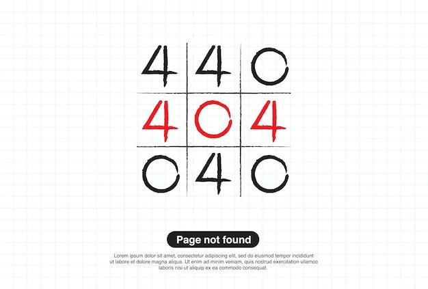 Aviso de rede de internet 404 erro de página ou arquivo não encontrado para a página da web