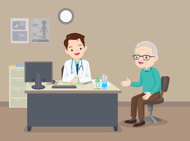 Avô no médico