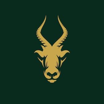 Awesome antelope design illustration