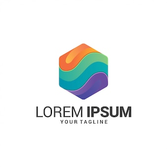 Awesome gradiente logo