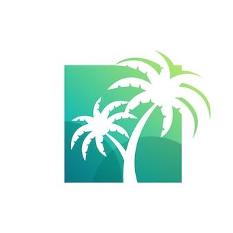 Awesome palm logo