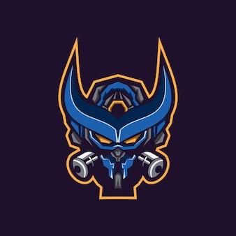 Awesome robot logo