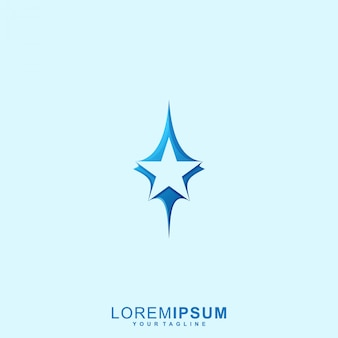 Awesome star logo