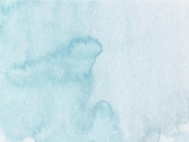 Azul brilhante pintado à mão aquarela textura abstrato base de aquarela.