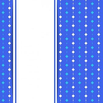 Azul com fundo losango