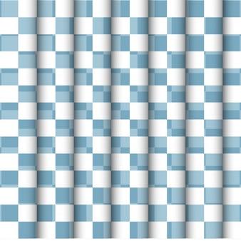 Azul e branco checkered backgrouns