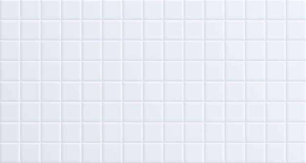 Azulejo branco do banheiro, fundo limpo da superfície da parede de cerâmica.