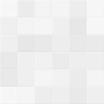 Azulejos brancos e cinzas na parede do banheiro. textura sem emenda do vetor em azulejos. ilustração da estrutura da cozinha em cerâmica quadrada geométrica