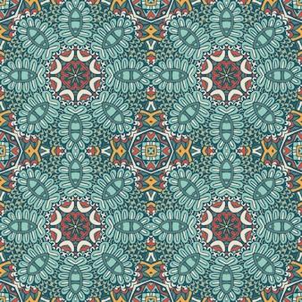 Azulejos geométricos abstratos padrão sem emenda ornamental