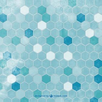 Azulejos hexagonais fundo