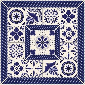 Azulejos talavera mexicanos