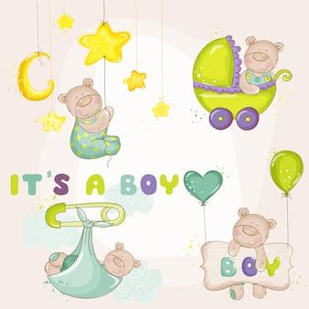 Baby bearset para chá de bebê