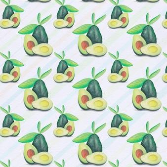 Backgorund do padrão de abacate