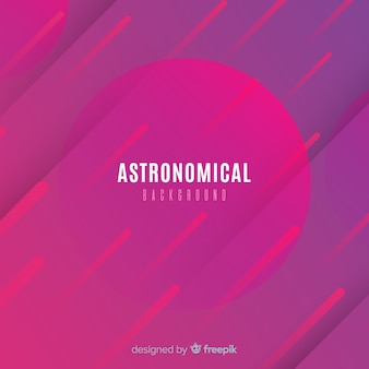 Backgound astronômico