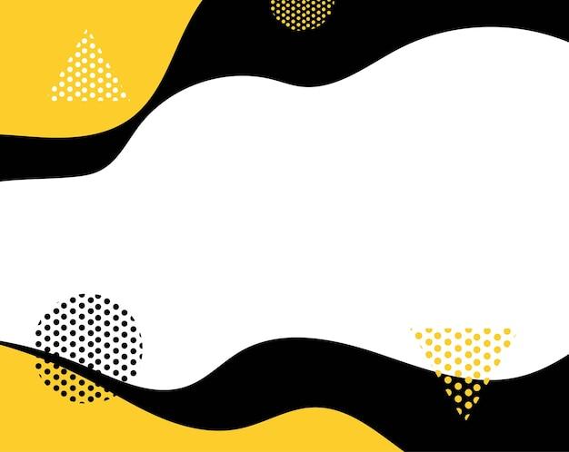 Backgrond amarelo e preto com linha