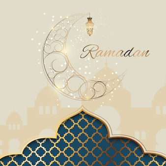 Background for muslim community festival ramadan kareem