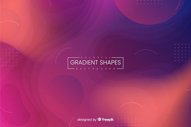 Background gradiente líquido