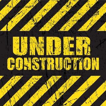 Background grunge construção