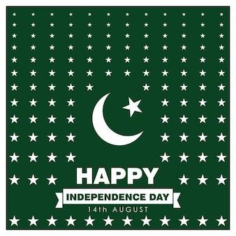 Background paquistão estrela dia