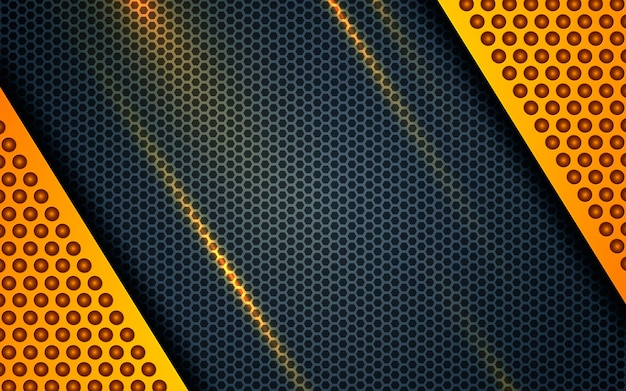 Backgrund abstrato amarelo moderno corporativa