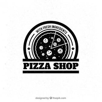 Badge pizza loja