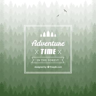 Badge tempo aventura