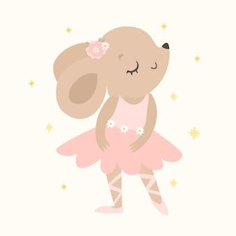 Bailarina de rato