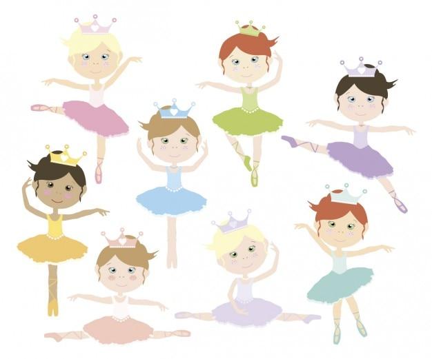 Bailarinas adoráveis
