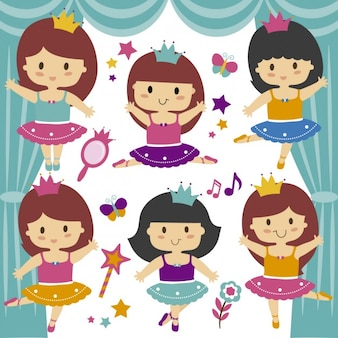 Bailarinas fundo