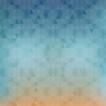 Baixo fundo colorido poli