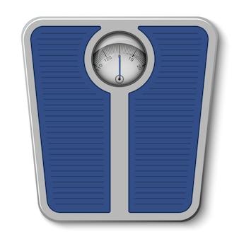 Balança de peso do banheiro