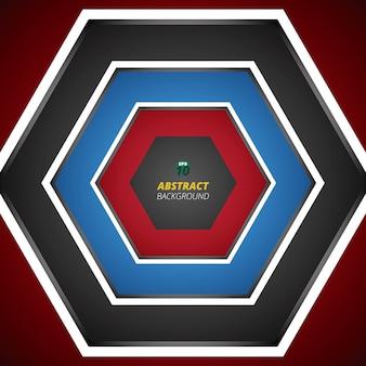 Balanço moderno do fundo vermelho do inclinação do preto azul.