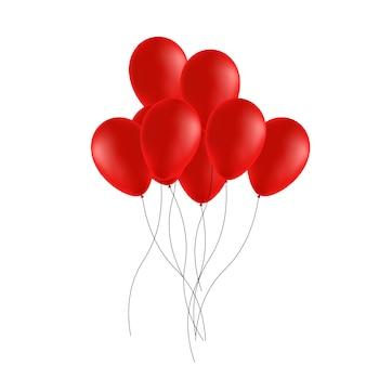 Balão. bola de borracha festiva cheia de hélio.
