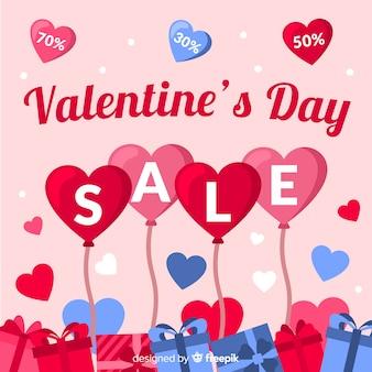 Balão de coração dos namorados venda fundo
