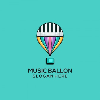 Balão de música
