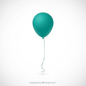 Balão de turquesa