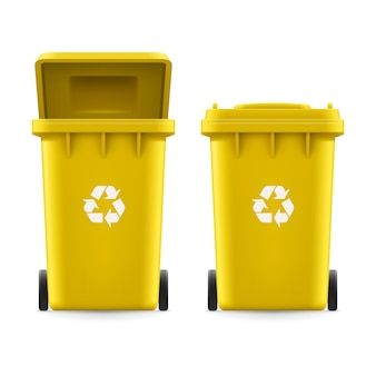 Baldes para lixo