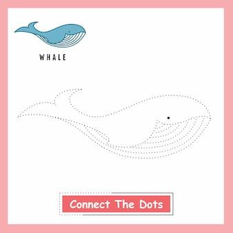 Baleia conectar os pontos