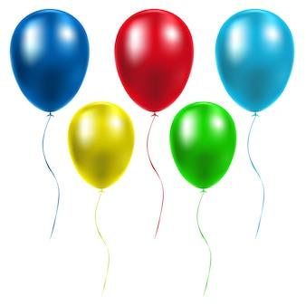Balões brilhantes realistas para aniversário, ocasiões festivas, festas, casamentos