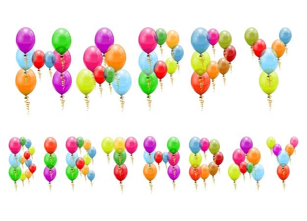 Balões de aniversário
