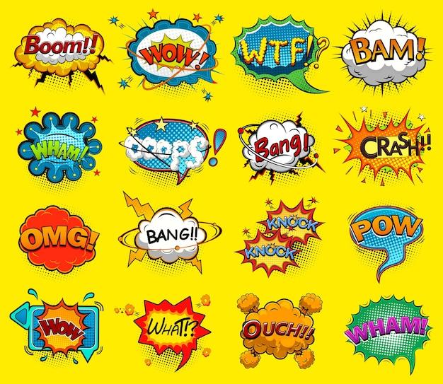 Balões de fala em quadrinhos