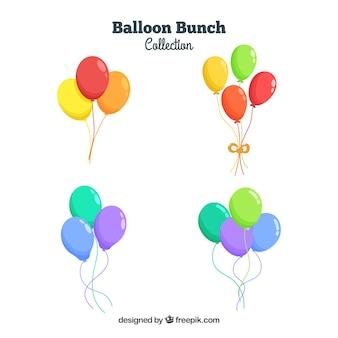 Balões decorativos bonitos e coloridos