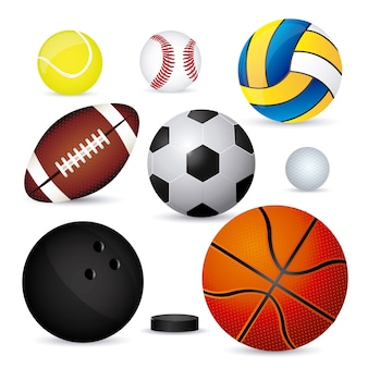 Balões esportivos