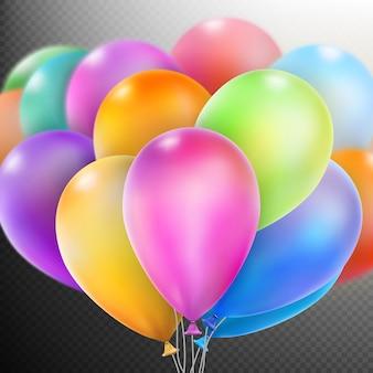 Balões.