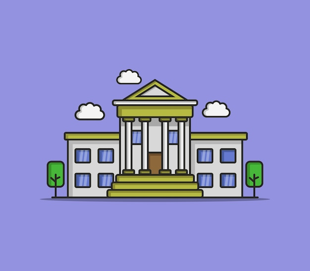 Banco ilustrado