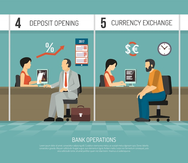 Banco plano ilustração