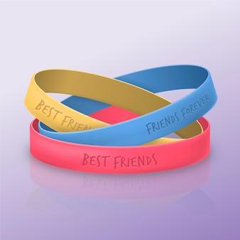 Banda de amizade realista