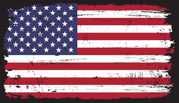 Bandeira americana do grunge