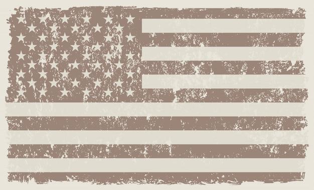 Bandeira americana vintage