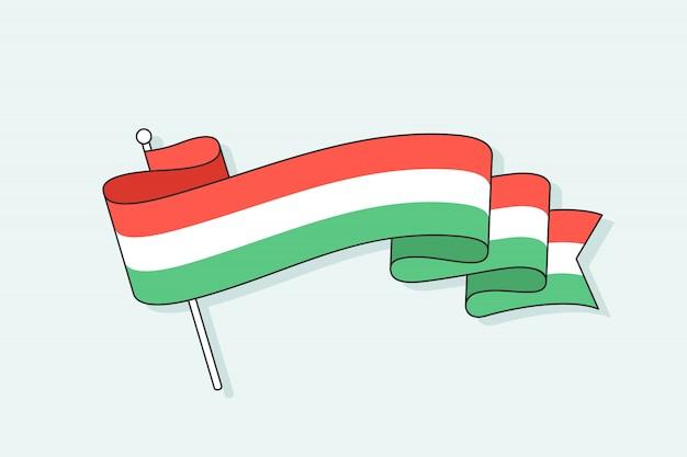 Bandeira com três listras